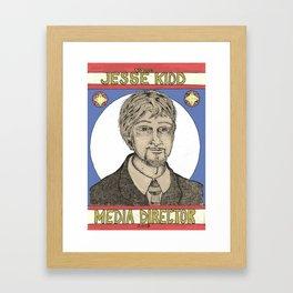 Vote Jesse Kidd Framed Art Print