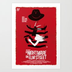A Nightmare - Red Collection Art Print