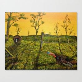 Evening Dual (2014) Canvas Print