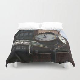 Clock Duvet Cover