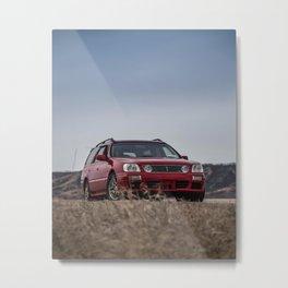 Nissan Stagea Metal Print