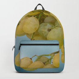 Bunch of  white grapes Backpack
