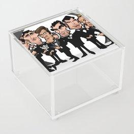 Faces of Bond Acrylic Box