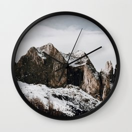The Mountains / Italy Wall Clock