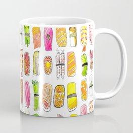 Sushi Watercolor-- Nigiri Sushi Coffee Mug