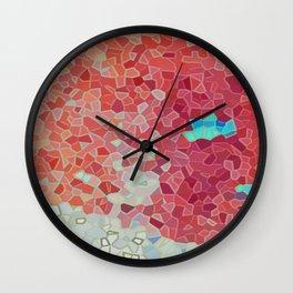Blue Island Wall Clock