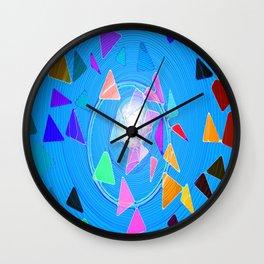 Pythagoras Swirl  Wall Clock