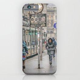 Urban Street Historic Center of Milan, Italy iPhone Case