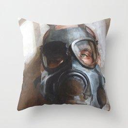 Classical Gas Throw Pillow
