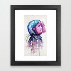 In Space No One Can Hear You Dream Framed Art Print