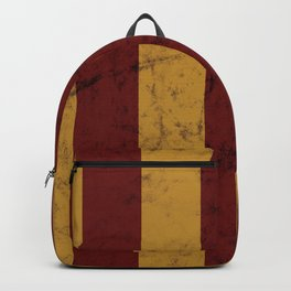 Burnt Red and Gold House Colours Backpack