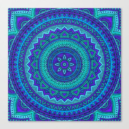Hippie mandala 55 Canvas Print