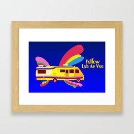 Yellow Lab RV Framed Art Print