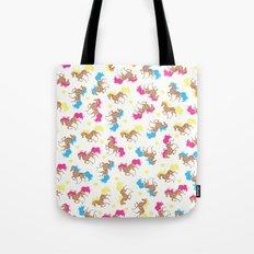 Retro horse pattern Tote Bag