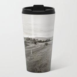 {  on the road } Metal Travel Mug