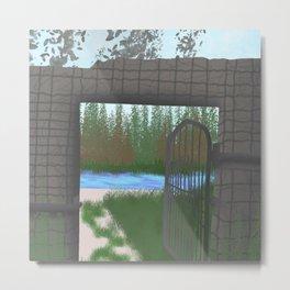 Fairtale gate  Metal Print