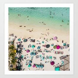 Beach Life Art Print
