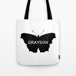 Grayson Butterfly Tote Bag