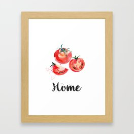 Tomato.Home Framed Art Print