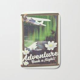 Adventure Book a Flight! Bath Mat