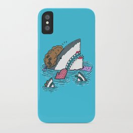The Mom Shark iPhone Case