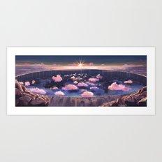 Finis Terra Art Print