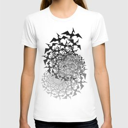 Fractyl Pterodactyl Swarms T-shirt