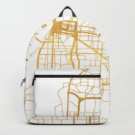 MEMPHIS TENNESSEE CITY STREET MAP ART Backpack