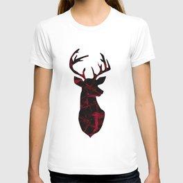 Deer head. T-shirt