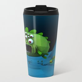 Giant Mutant Fish Metal Travel Mug