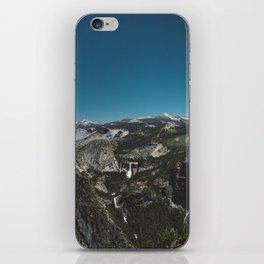 Glacier Point, Yosemite National Park IV iPhone Skin