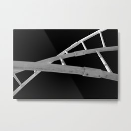 Playground Childs View Abstract Metal Print