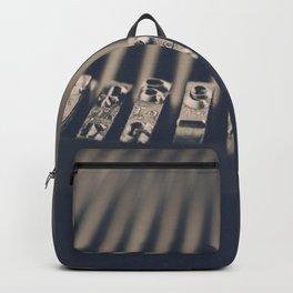 Vintage Typewriter Backpack