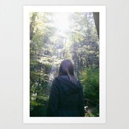 Filtered Light Art Print