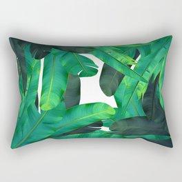 tropic green Rectangular Pillow