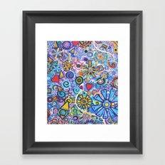 Joyous Framed Art Print