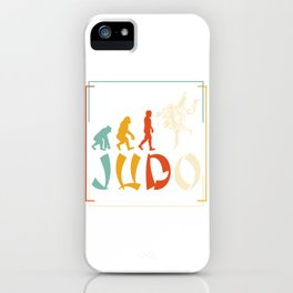 Evolution Judo iPhone Case