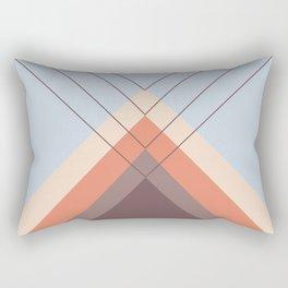 Iglu Blue Retro Rectangular Pillow