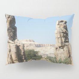The Clossi of memnon at Luxor, Egypt, 1 Pillow Sham