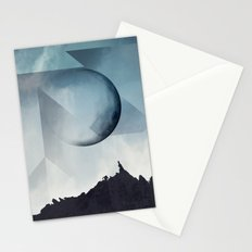 Jagged Peaks Stationery Cards