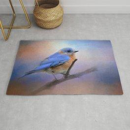 The Happiest Blue - Bluebird Rug