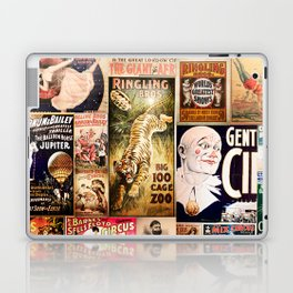 Circus Collage Laptop & iPad Skin