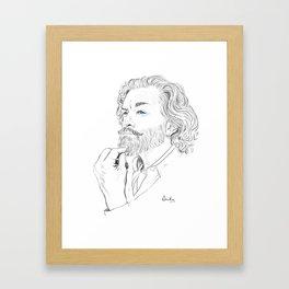 Timothy Omundson Framed Art Print