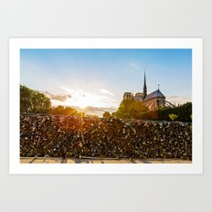 Summer in Paris Art Print