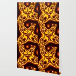 """""""Burnt Umber"""" Fractal Art Print Wallpaper"""
