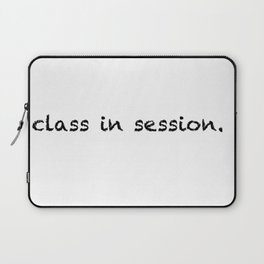 Class In Session Laptop Sleeve