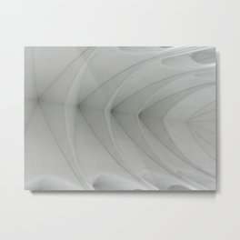 Vaulted Metal Print