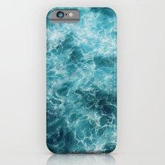Blue Ocean Waves Slim Case iPhone 6s