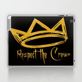 Respect the Crown Laptop & iPad Skin