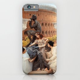 The Colosseum 1896 by Sir Lawrence Alma Tadema | Reproduction iPhone Case